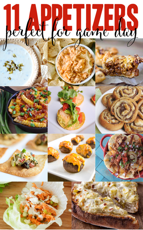 Chili-Stuffed Mushrooms #Recipe + 11 Gameday Appetizers | Award Winning Recipes | Scoop.it