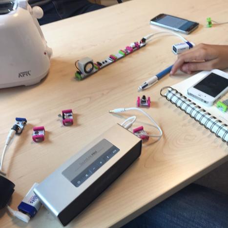 """Le défi du grille pain lors de l'atelier """"prototyper  rapidement de l'Internet des objets"""" à Experimenta Grenoble.   Innovaders   Scoop.it"""