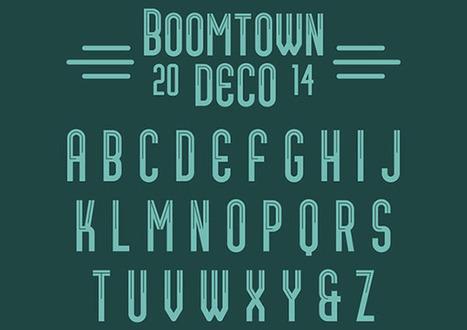 New Awesome Free Fonts April 2014 | Ultimate Tech-News | Scoop.it