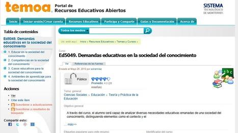 Recursos educativos abiertos: el futuro de la educación | DiplomadoDCDAVCA | Scoop.it