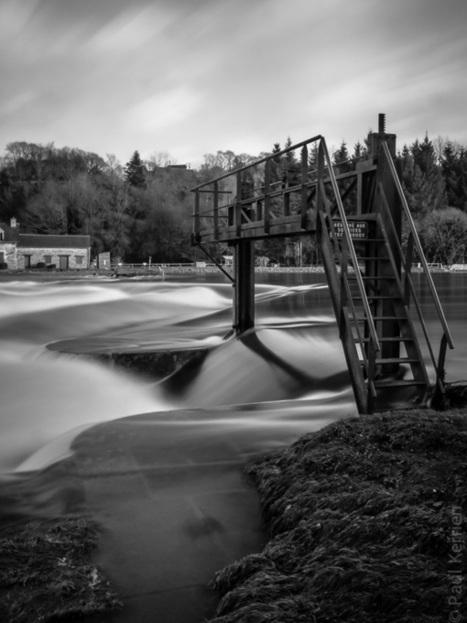 Toilapol - Bretagne - Finistère :  que d'eau, que d'eau à l'écluse de Rosveguen en Lennon (4 photos dont 1 pano.)   photo en Bretagne - Finistère   Scoop.it