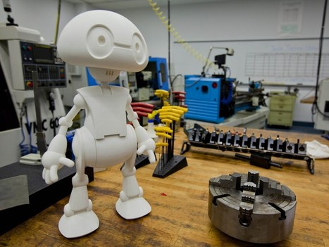 Heeeeeere's Jimmy: Intel's 3-D Printed Robot Will Hit the Market Later This Year | Invent To Learn: Making, Tinkering, and Engineering in the Classroom | Scoop.it