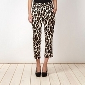 Animal print cropped trousers - Just Be Fancy | Online Clothing for Women | Scoop.it