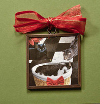 Three Christmas Cats Cat Ornament | Christmas Cat Ornaments and Cards | Scoop.it