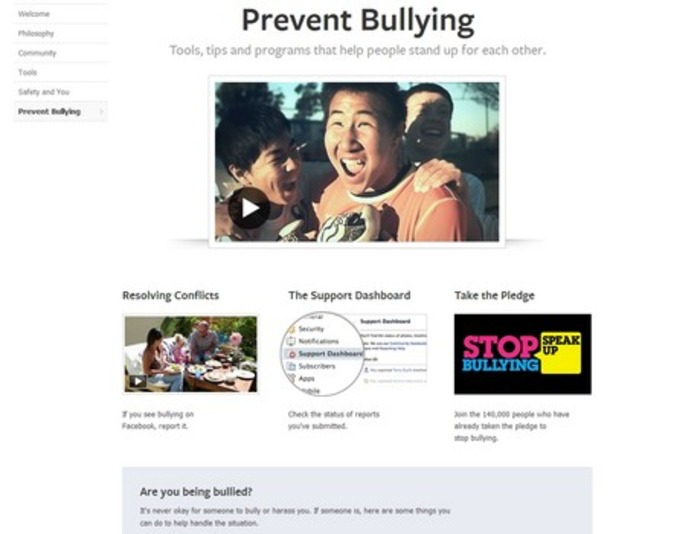 New page could put an end to bullying on Facebook | Business in a Social Media World | Scoop.it