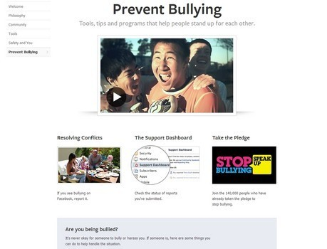 "New page could put an end to bullying on Facebook | ""#Google+, +1, Facebook, Twitter, Scoop, Foursquare, Empire Avenue, Klout and more"" 