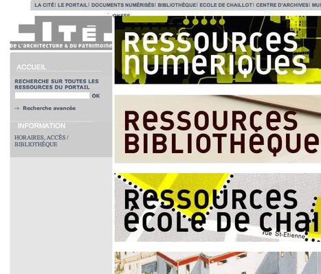 Portail Documentaire de la Cité de l'Architecture   Base de données de données   Scoop.it