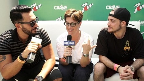 Ultra Music Festival VIDEO: Interview with Tracy Young and Cedric Gervais - Crave Online   Cedric Gervais   Scoop.it