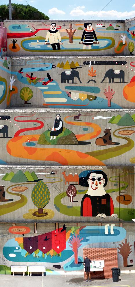 AGOSTINO IACURCI illustrateur et street artiste italien | arts graphiques | Scoop.it