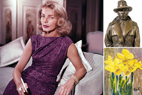 The weirdest items up for auction from Lauren Bacall's estate | Vintage and Retro Style | Scoop.it