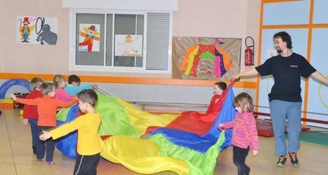 Sévérac-le-Château. Les enfants sensibilisés aux jeux du cirque - LaDépêche.fr   Tourisme: Les clubs enfants   Scoop.it