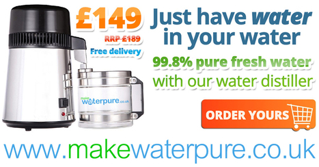 Home Water Distiller from Make Water Pure   WATER Purifying Systems   Scoop.it