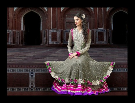 Gravity Fashion - Gleaming Gray Salwar Kameez | If loving Fashion is a Crime, We Plead Guilty | Scoop.it