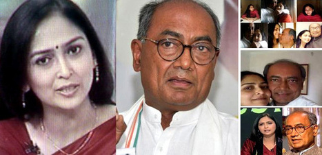 Congress leader Digvijay Singh Acknowledged relationship with TV Anchor Amrita Rai | indian mirror magazine australia | Scoop.it