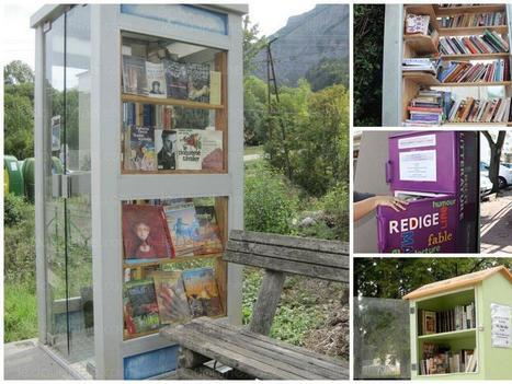 Bibliothèques de rues : des livres en libre-service pour tous | Action Sociale | Scoop.it