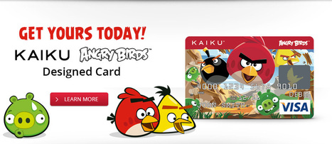 Prepaid Visa Debit Card | Get a Prepaid Debit Card | KAIKU Visa Prepaid Card | Daily Magazine | Scoop.it