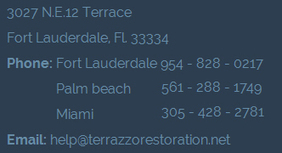 Terrazzo Floor Restoration : Terms and Condition - Miami, Fort Lauderdale, Palm Beach   Colonial Floor Care   Scoop.it