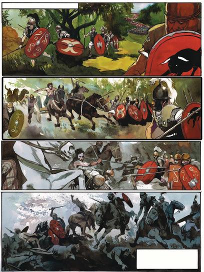 La guerre des Gaules: preview // livre 2 // book 2 // page complète | La Guerre des Gaules en BD | Scoop.it