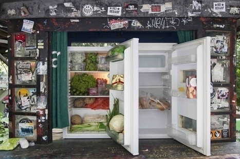 Des frigos en libre-service contre le gaspillage | Innovations inspirantes ou étonnantes | Scoop.it