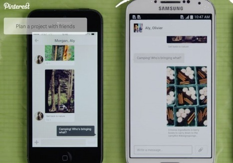 How Pinterest Messaging could transform travel planning | Pinterest Marketing Tips | Scoop.it
