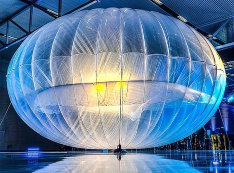 Les ballons de Google vont connecter le Sri Lanka | Freewares | Scoop.it