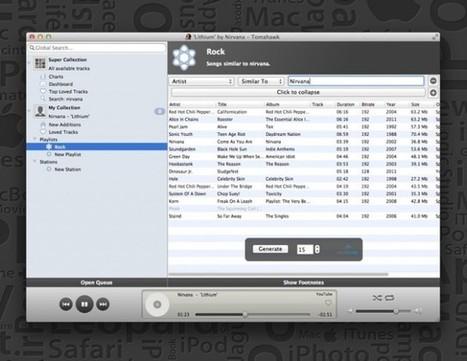 Tomahawk : iTunes, Spotify, YouTube, Grooveshark ou encore Soundcloud dans le même logiciel ! | Time to Learn | Scoop.it