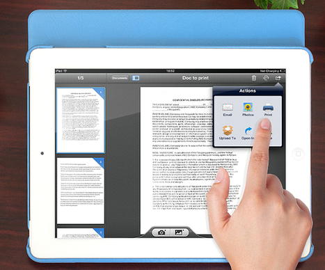 How To Use Your iPad as a Document Scanner | Time Management Ninja | iPads | Scoop.it