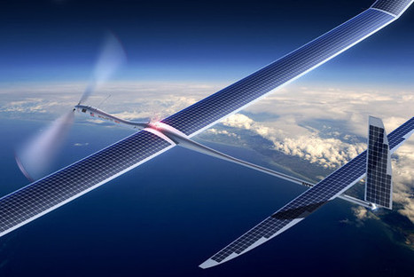 Google snaps up drone maker Titan Aerospace, which Facebook sought to buy. | Social Media and its influence | Scoop.it