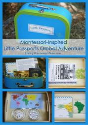 Montessori Monday – Montessori-Inspired Little Passports Global Adventure | Montessori Inspired | Scoop.it