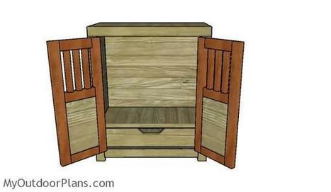 18 Doll Armoire Plans | MyOutdoorPlans | Free Woodworking Plans and Projects, DIY Shed, Wooden Playhouse, Pergola, Bbq | Garden Plans | Scoop.it