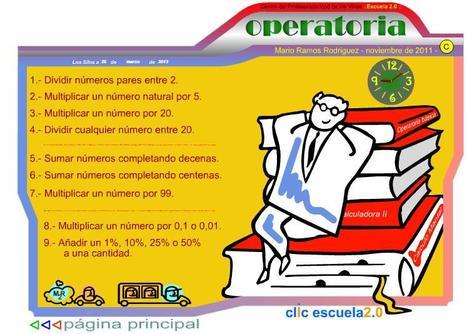 Operatoria básica ::Mario Ramos Rodríguez: | Las TIC y la Educación | Scoop.it