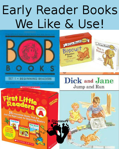 Early Reading Books We Like & Use   3 Dinosaurs   Educational Supports   Scoop.it