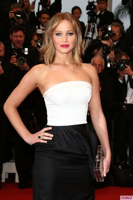 Jennifer Lawrence is a Red Carpet Winner Again in Christian Dior at ... | Jennifer Lawrence | Scoop.it