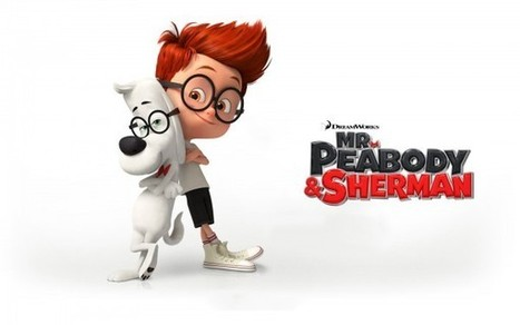 The Dogfather: Mr. Peabody and Sherman movie review | movie reviews | Scoop.it