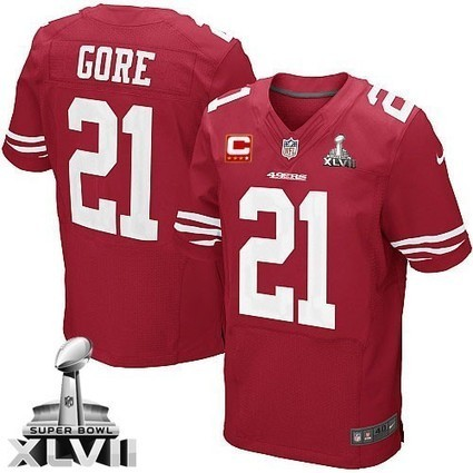 Elite Red Frank Gore Mens Jersey Team Color Style From San Francisco 49ers Shop | San Francisco 49ers Jersey | Scoop.it