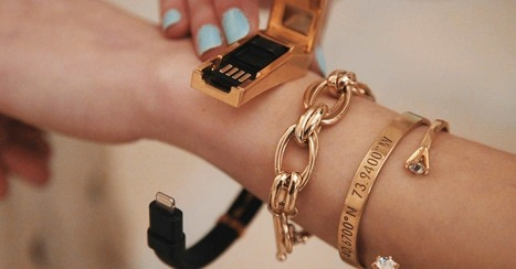 This stylish cable bracelet lets you charge your phone on the go (sort of)   I didn't know it was impossible.. and I did it :-) - No sabia que era imposible.. y lo hice :-)   Scoop.it