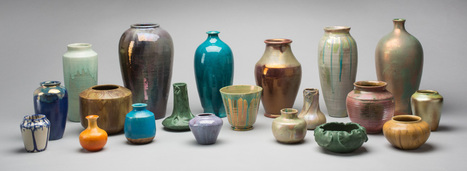 Cranbrook Art Museum   Simple Forms, Stunning Glazes: The Gerald W. McNeely Collection of Pewabic Pottery   design exhibitions   Scoop.it