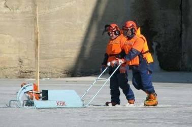В Кургане начали пилить лед на Тоболе | Serge | Scoop.it