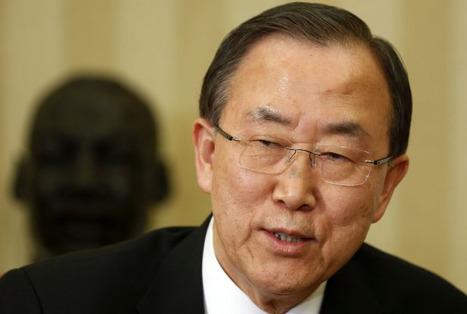 Le secrétaire général de l'ONU Ban Ki-moon «renouvelle son appel urgent» au gouvernement syrien | Média Mieux | Scoop.it