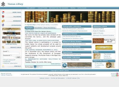La Bibliothèque vaticane enrichit son offre numérique | La-Croix.com | Outils et  innovations pour mieux trouver, gérer et diffuser l'information | Scoop.it