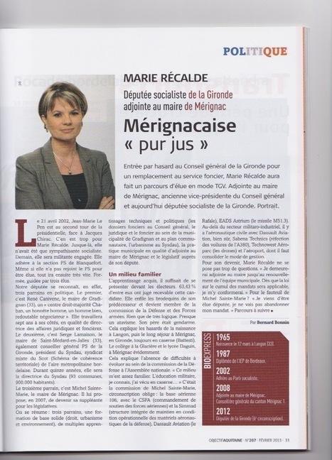Mérignacaise « pur jus » | Le blog de Marie Récalde | Marie Récalde | Scoop.it