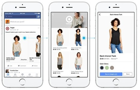Facebook va proposer Canvas son nouveau format publicitaire immersif - Arobasenet.com | Going social | Scoop.it