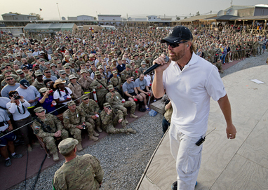 Toby Keith Launches 11th USO Tour | Country Music Today | Scoop.it