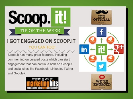 I GOT ENGAGED ON SCOOP.IT - You can too! | MarketingHits | Scoop.it
