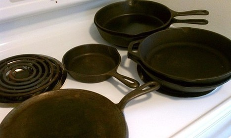 Collecting Antique & Vintage Cast Iron Pans | Collectors' Blog | Antiques & Vintage Collectibles | Scoop.it
