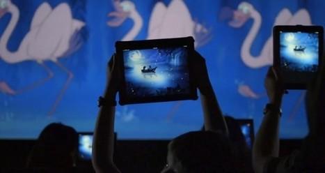 Disney pide a la gente que lleve su iPad al cine - FayerWayer | Narrativa audiovisual y telespectadores inteligentes | Scoop.it