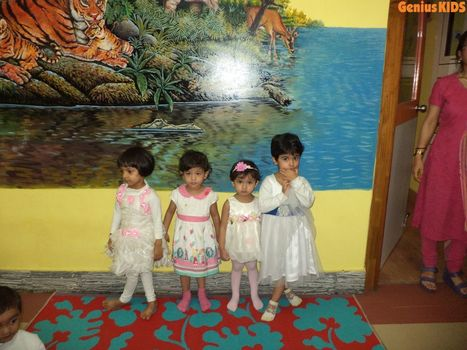 Best playschool celebrating Holi | Kids Creche in Kolkata | Scoop.it