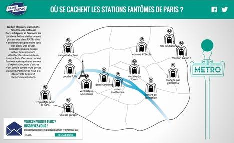 Les stations fantômes du métro de Paris | Médias sociaux et tourisme | Scoop.it