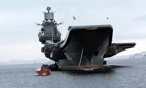 Putin sends Russia's biggest battleship to Syria in bid to destroy IS   Miscellaneous Topics   Scoop.it