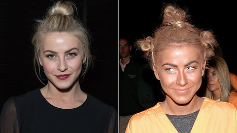 Julianne Hough is So Sorry She Wore Blackface for Halloween   Racism   Scoop.it